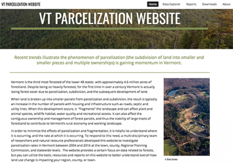 Jamey Fidel: Tracking Land Parcelization Over Time to Inform Planning and Policy in Vermont